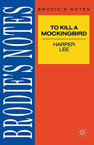 9780333581445: Lee: To Kill a Mockingbird (Brodie's Notes)