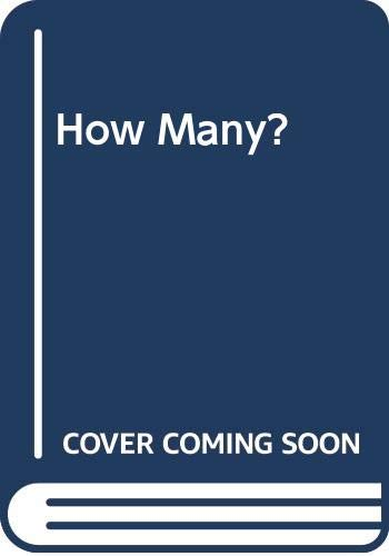 How Many? (0333582764) by Maureen Roffey