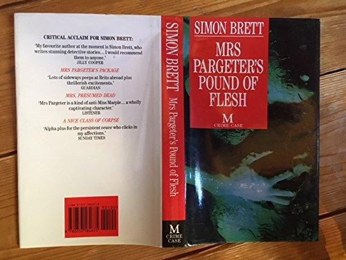 9780333584675: Mrs Pargeter's Pound of Flesh (Macmillan crime case)