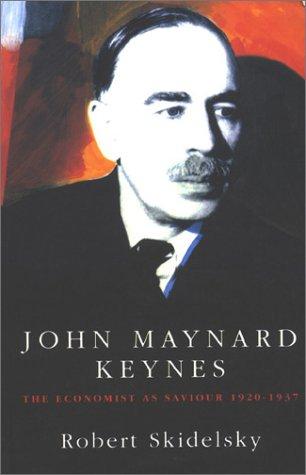 9780333584996: John Maynard Keynes: Vol. 2, The Economist As Saviour, 1920-1937