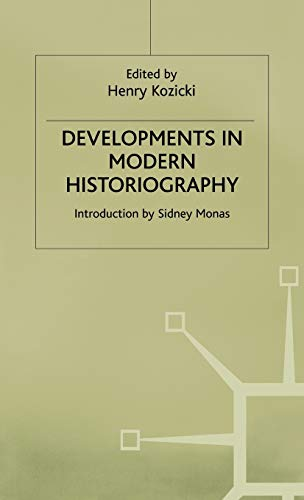 9780333585979: Developments in Modern Historiography