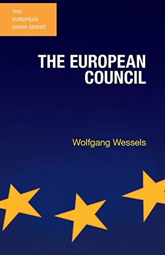 9780333587478: European Council