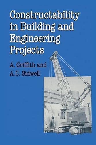 9780333588154: Constructability in Building and Engineering Projects (Building & Surveying Series)