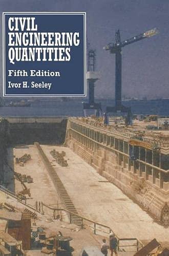 9780333589069: Civil Engineering Quantities (Building & Surveying Series)