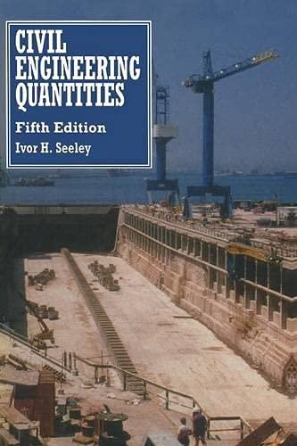 9780333589076: Civil Engineering Quantities (Building & Surveying Series)