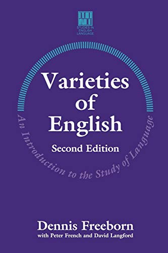 9780333589175: Varieties of English: An Introduction to the Study of Language (Studies in English Language)