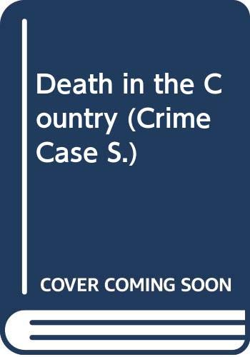9780333592748: Death in the Country (Crime Case)