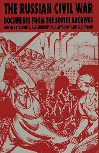 9780333593196: The Russian Civil War: Documents from the Soviet Archives