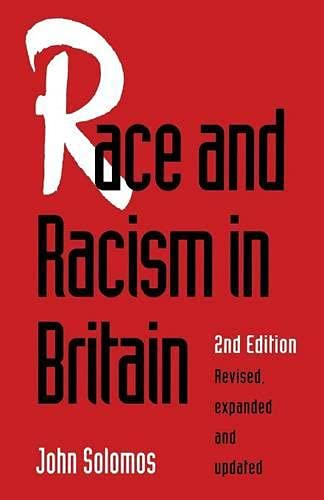 9780333593295: Race and Racism in Britain