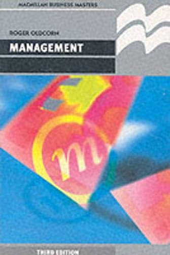9780333593608: Management (Business Masters)