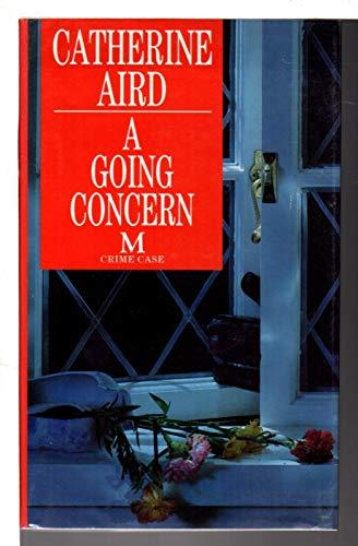 9780333593837: A Going Concern (Crime Case)