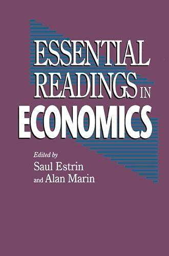 9780333594513: Essential Readings in Economics
