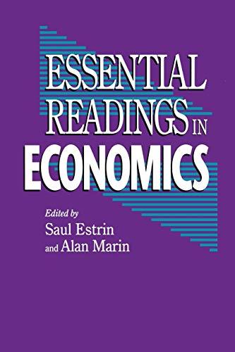 9780333594520: Essential Readings in Economics