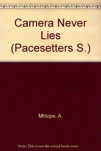 9780333594827: Camera Never Lies (Pacesetter)