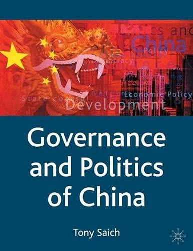 9780333594872: Governance and Politics of China (Comparative Government and Politics)