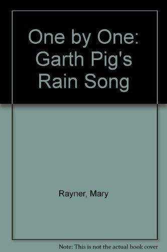 9780333594971: One by One: Garth Pig's Rain Song