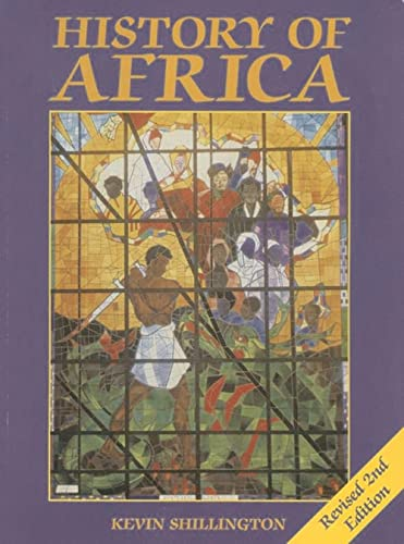 9780333599570: History of Africa, Revised 2nd Edition