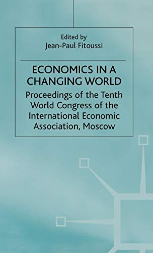 9780333601273: Economics in a Changing World: Volume 5: Economic Growth and Capital Labour Markets (International Economic Association Series)