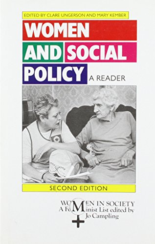 9780333601860: Women and Social Policy: A Reader (Women in Society)