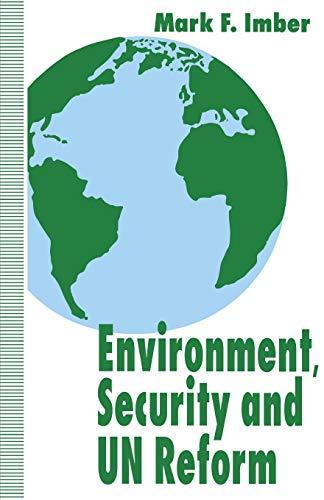 9780333605905: Environment Security & UN Reform
