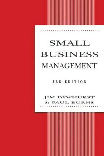 Small Business Management (Macmillan Small Business): Burns, Paul [Editor];