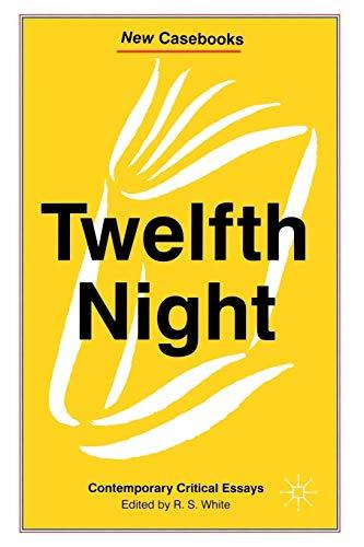 9780333606773: Twelfth Night: Contemporary Critical Essays (New Casebooks)