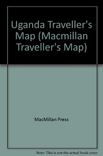 9780333607190: Uganda Traveller's Map (Macmillan Traveller's Map)