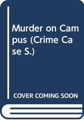 9780333608227: Murder on Campus