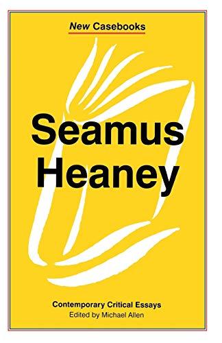 9780333608869: Seamus Heaney