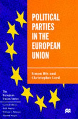 9780333609217: Political Parties in the European Union