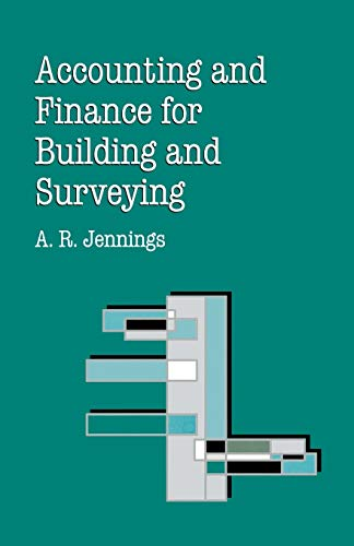 9780333609613: Accounting and Finance for Building and Surveying (Building & Surveying Series)