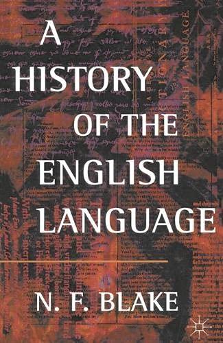 9780333609835: A History of the English Language