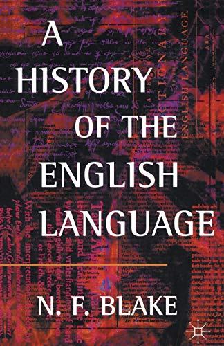 9780333609842: A History of the English Language
