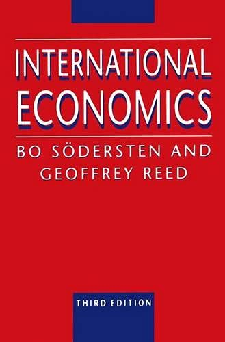 9780333612163: International Economics