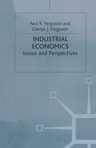 9780333614938: Industrial Economics: Issues and Perspectives