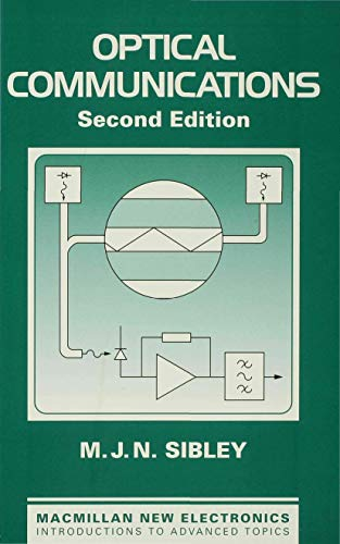 9780333617922: Optical Communications (Macmillan New Electronics)
