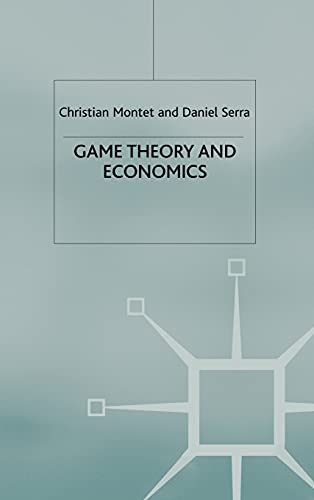 9780333618462: Game Theory and Economics
