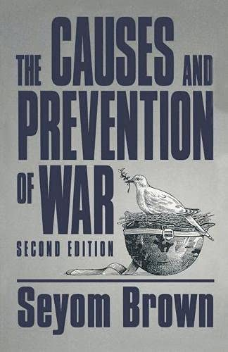 9780333618509: Causes and Prevention of War