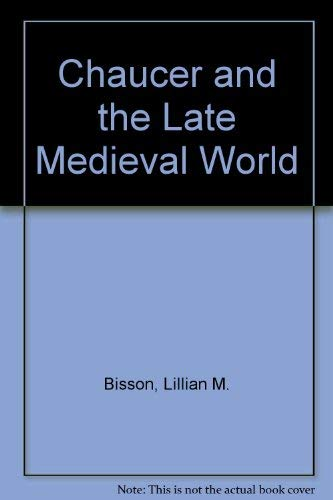 9780333619643: Chaucer and the Late Medieval World