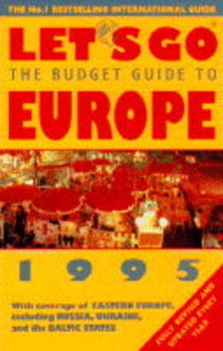 9780333622209: Let's Go Europe 1995