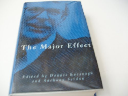9780333622766: The Major Effect