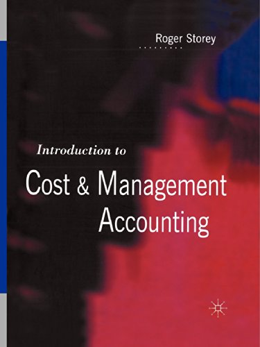 9780333623176: Introduction to Cost and Management Accounting
