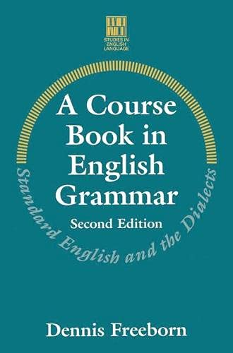 9780333624920: A Course Book in English Grammar (Studies in English Language)
