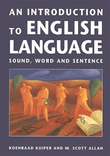 9780333624944: An Introduction to English Language: Sound, Word and Sentence