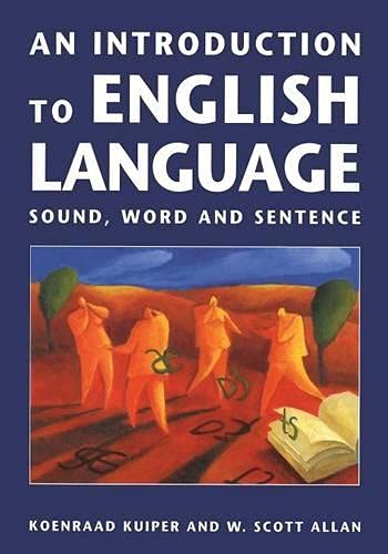 9780333624951: An Introduction to English Language: Sound, Word and Sentence