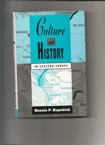 9780333625217: Culture and History in Eastern Europe