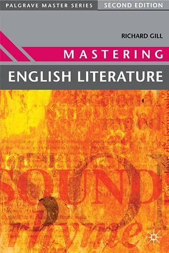 Mastering English Literature (Palgrave Master Series): Gill, Roma