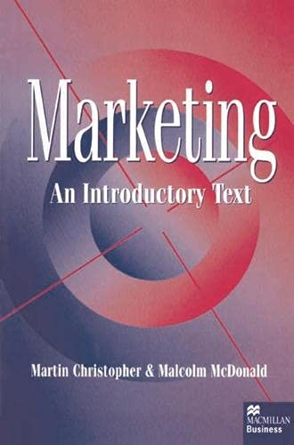 9780333625866: Marketing: An Introductory Text