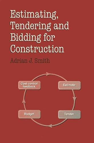 9780333627945: Estimating, Tendering and Bidding for Construction Work (Building & Surveying Series)