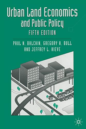 9780333629031: Urban Land Economics and Public Policy (Building and Surveying Series)